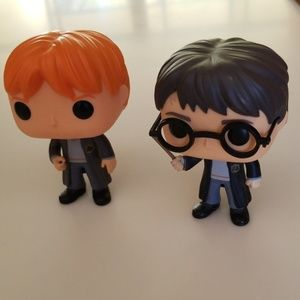 Other - Six Harry Potter Figurines
